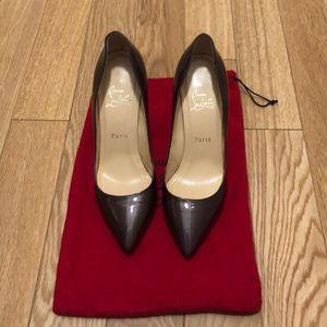 Christian Louboutin Purple Heels Size 38 1/2